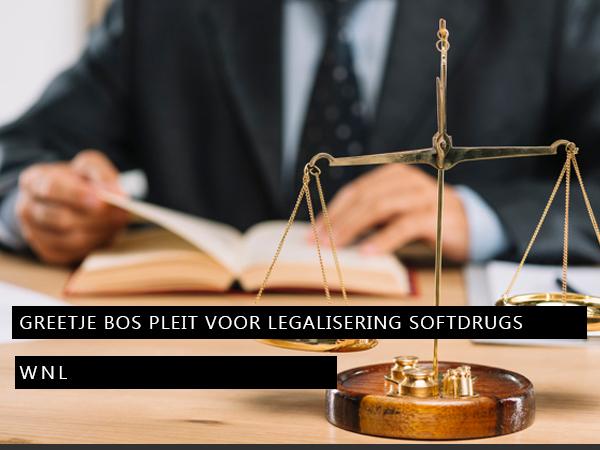Oud-officier van justitie Greetje Bos pleit voor legalisering softdrugs