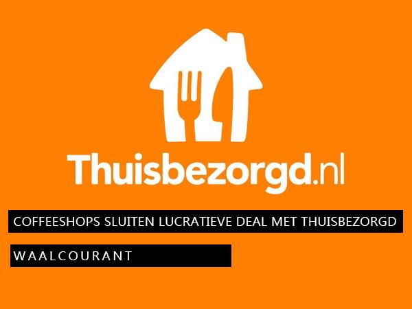 Coffeeshops sluiten lucratieve deal met Thuisbezorgd.nl