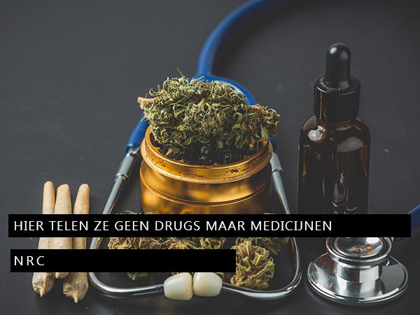 Hier telen ze geen drugs maar medicijnen
