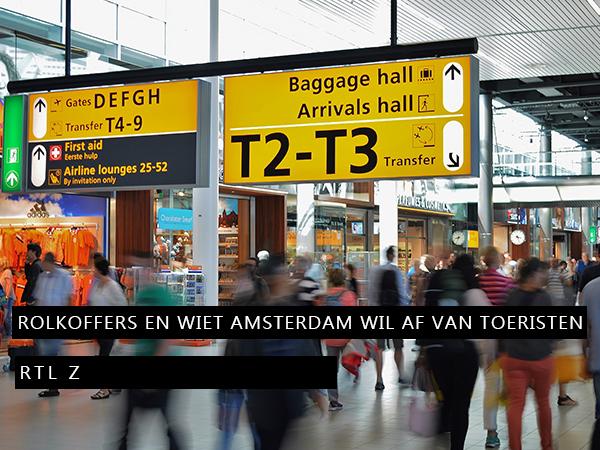 Amsterdam wil af van toeristen