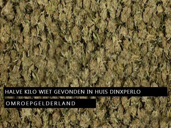 Halve kilo wiet gevonden in huis Dinxperlo