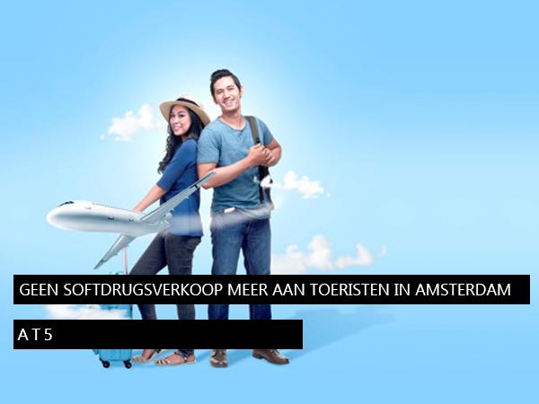 Geen softdrugsverkoop meer aan toeristen in Amsterdam