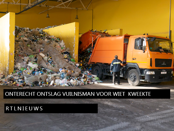 Onterecht ontslag van vuilnisman die wiet voor eigen gebruik kweekte