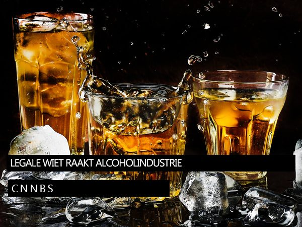 Legale wiet raakt alcoholindustrie